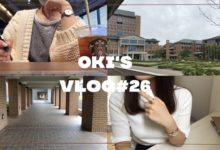 Photo of VLOG#26(ENG)10ヶ月ぶりに大学に行ってみました| going back to campus for the first time in 10 months